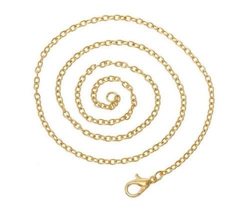 14K White Gold Chains