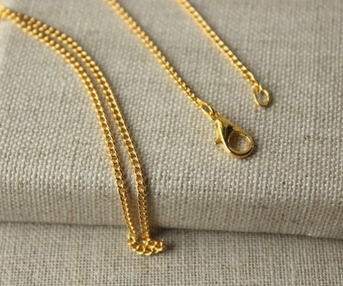 14K Yellow Gold Chains For Men