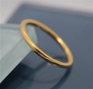 24k Gold Ring Men