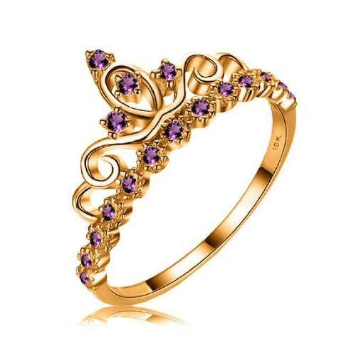 Amethyst Rings Gold