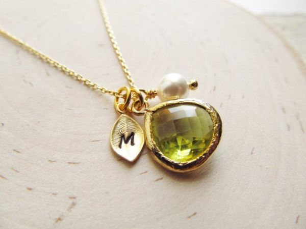 Birthstones Peridot Necklaces