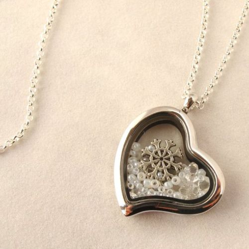 Charm Locket Necklace