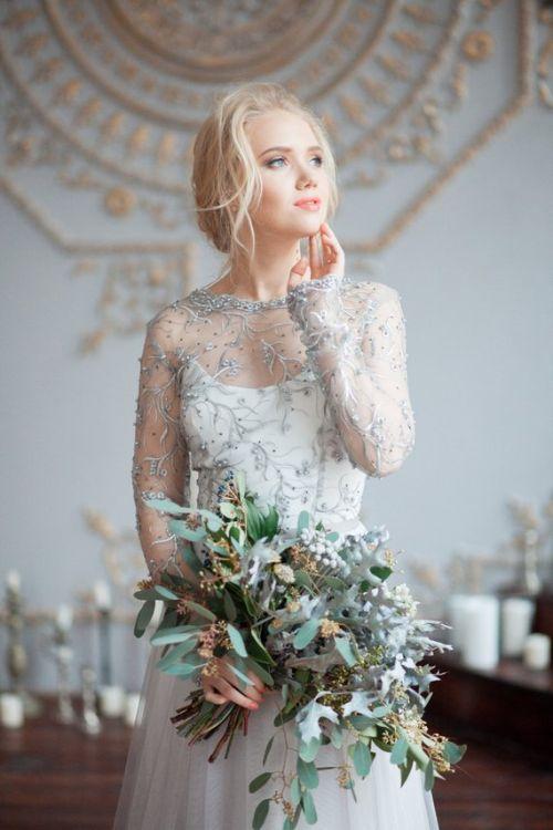 Designer Bohemian Wedding Dress