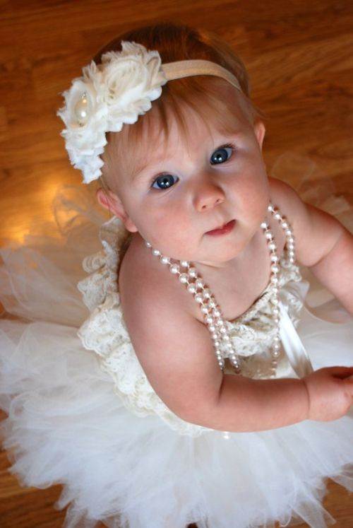 Flower Headband For Toddler Flower Girls Wedding Perfection