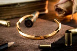 Gold Plated Bracelets For Men