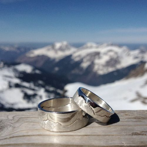 Mountain Ring Jewelry fo Wanderlusters