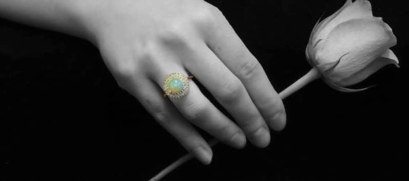 36 Most Unique Opal Engagement Rings