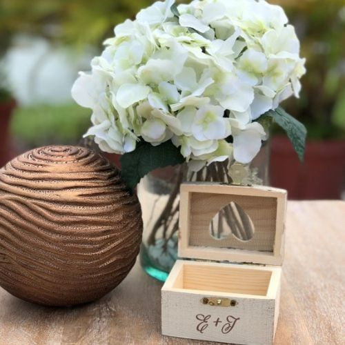 Personalized Ring Holder Wedding Gift Perfection
