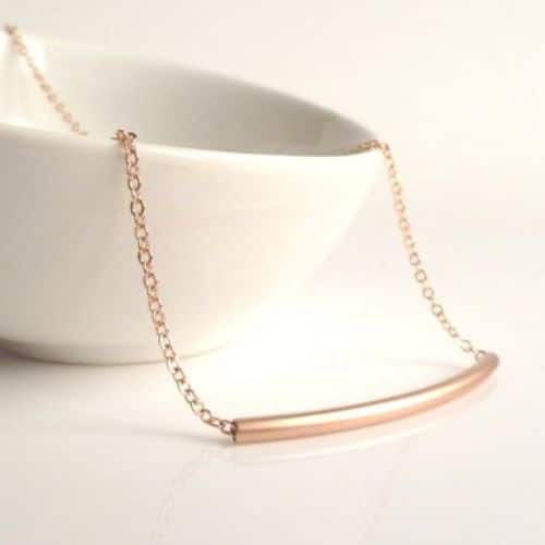 Rose Gold Chains Necklaces