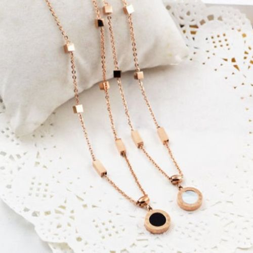 Rose Gold Necklaces Pandora