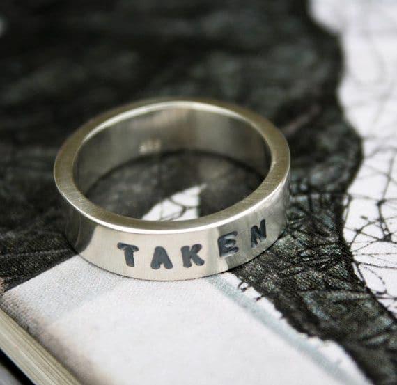 Unique Mens Promise Ring