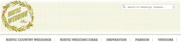 Wedding Blog Rustic Wedding Chic