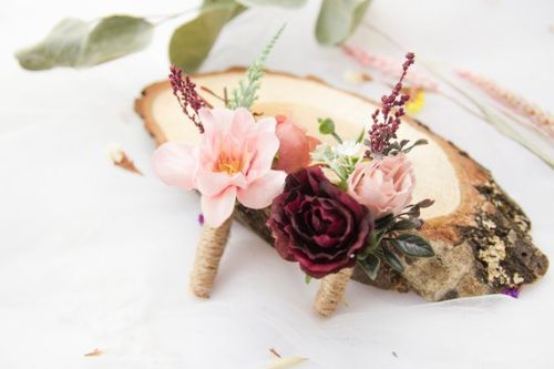 Wedding Boutonniere For Grooms