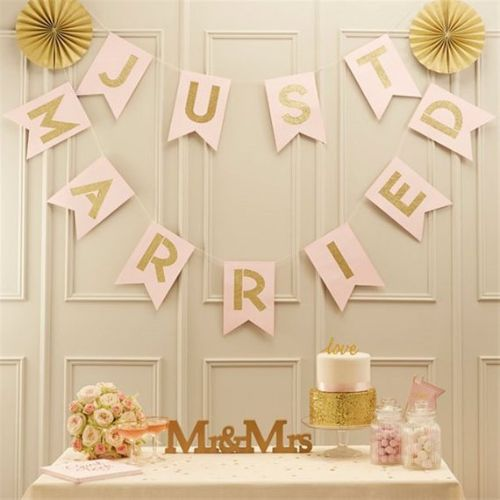 Wooden Sign Wedding Decoration Perfection