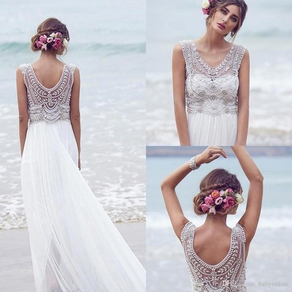 Affordable Bohemian Wedding Dresses