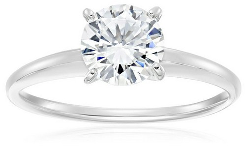 Amazon Collection Sterling Silver Cubic Zirconia Ring