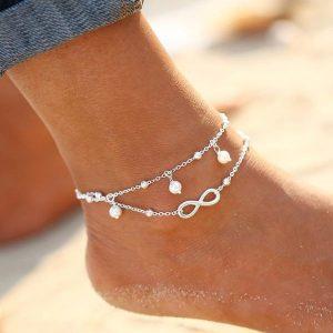 Anklets Sterling Silver