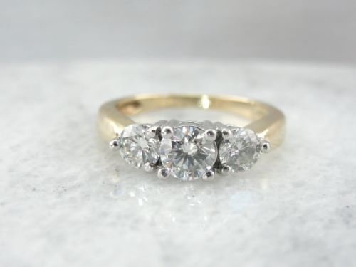 Antique Gold Engagement Rings Pinterest