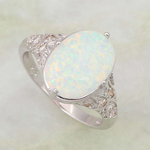 Antique Opal Engagement Rings Ring To Perfection