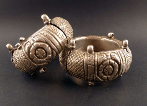 Antique Silver Bangles