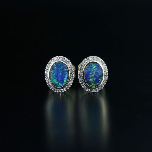 Australian Opal Earings