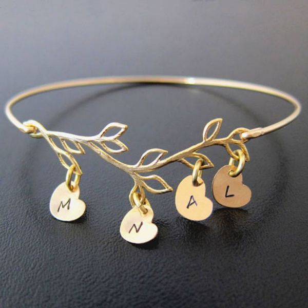 Bangle Engraved Bracelets