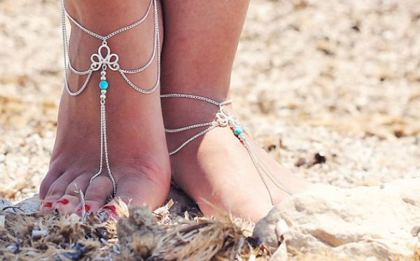 Barefoot Sandals Jewelry fo Wanderlusters