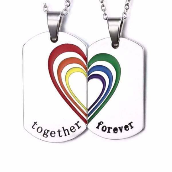 Couple Necklaces 60 Cutest Matching Necklace Sets For Couples 2019