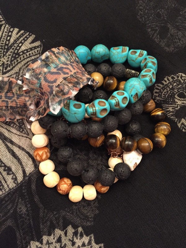 Beaded Bracelet Stacks