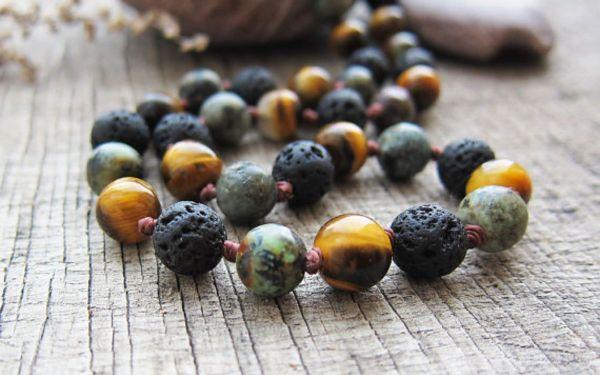 Beaded Necklaces Of The Samburu Tribe