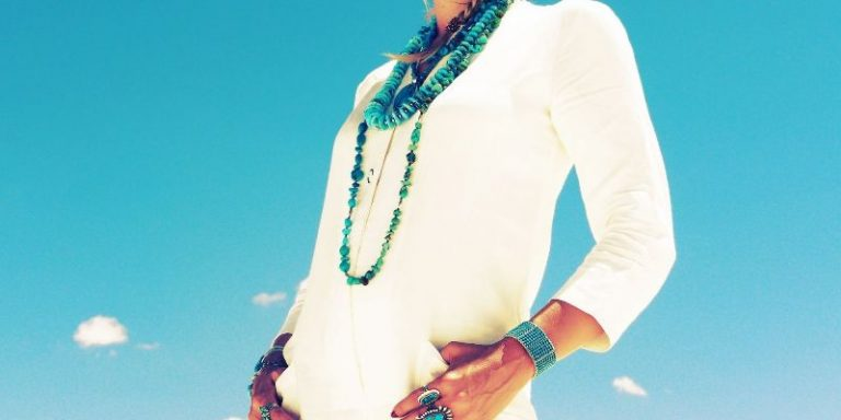 Beautifully Styled Turquoise Jewelry