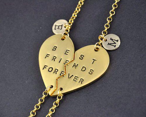 Best Friend Gold Bracelets