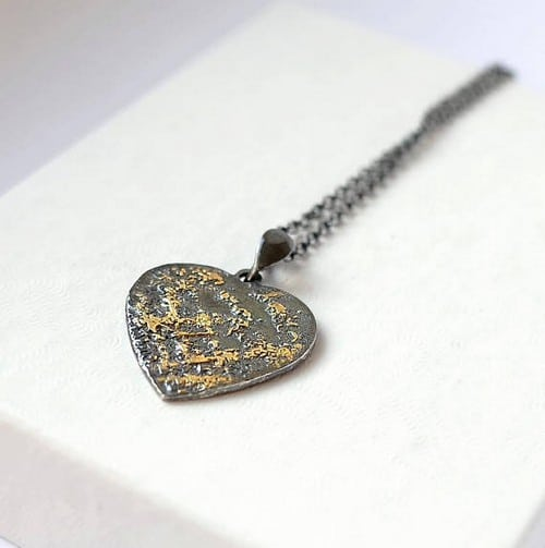 Best Friend Heart Necklaces
