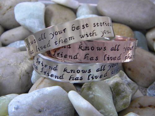 Best Friend Silver Bracelets