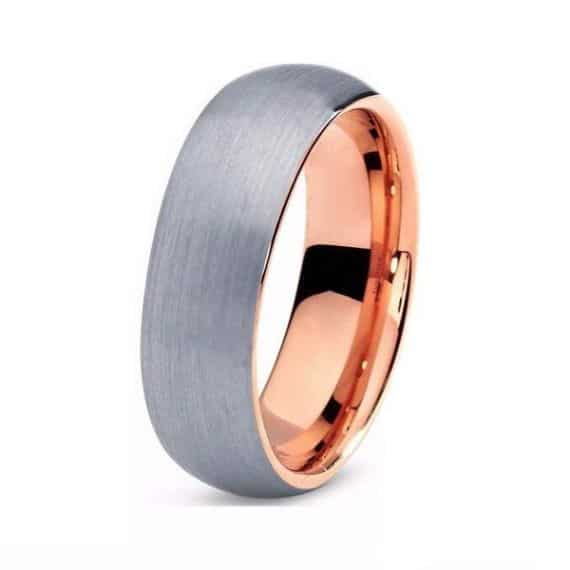 wedding rose band jar en men mv mens s ring bands gold jaredstore zm jared
