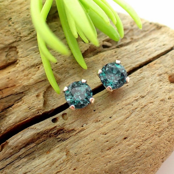 Birthstones Alexandrite Earrings