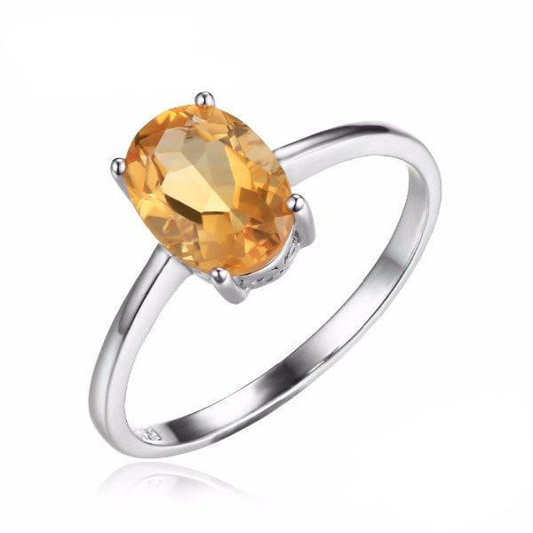 Birthstones Citrine Ring