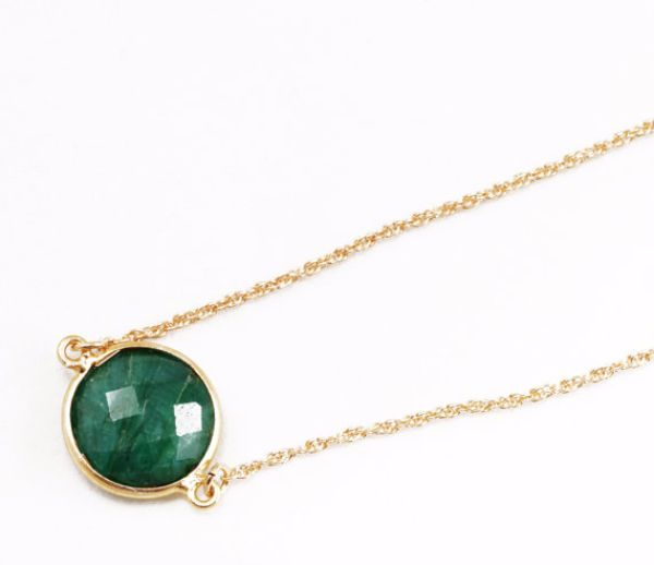 Birthstones Emerald Necklaces