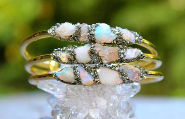 Birthstones Opal Bracelets