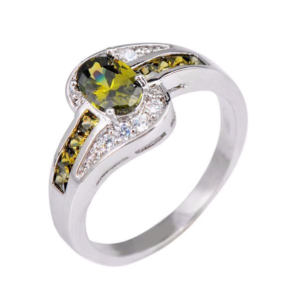 Birthstones Peridot Ring