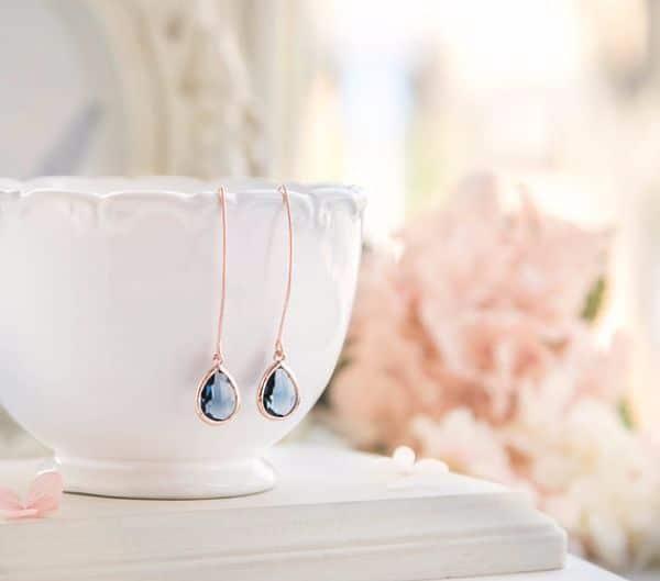 Birthstones Sapphire Earrings