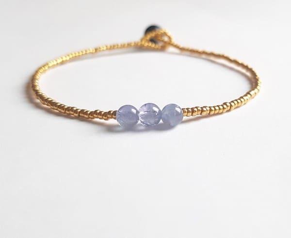 Birthstones Tanzanite Bracelet