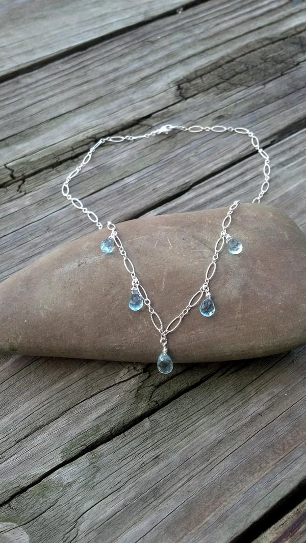 Birthstones Topaz Necklaces