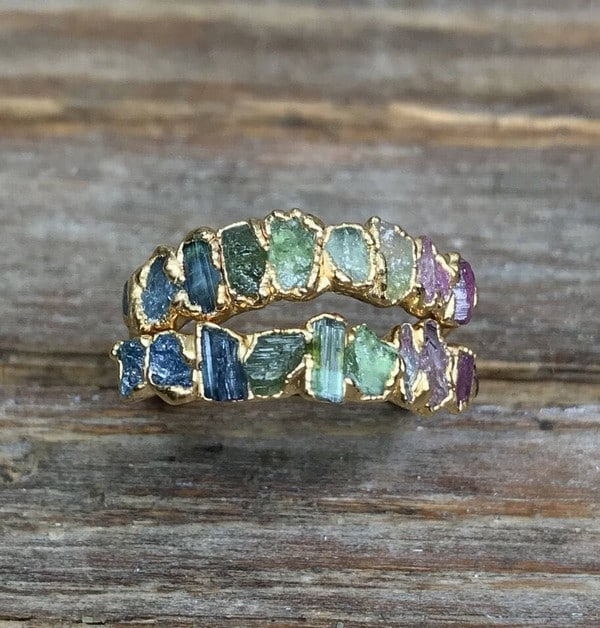 Birthstones Tourmaline Ring
