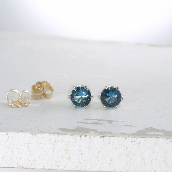Birthstones Zircon Earrings
