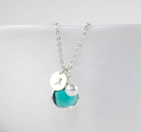 Birthstones Zircon Necklace