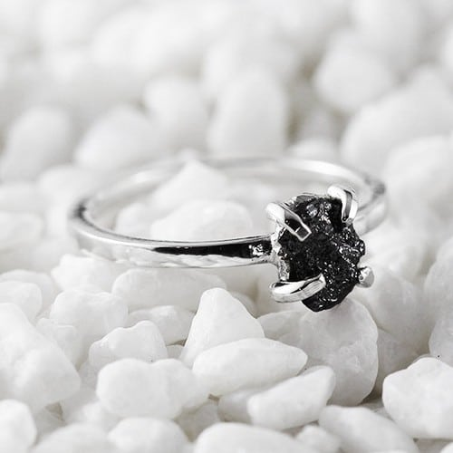 Black Diamond Engagement Rings Video