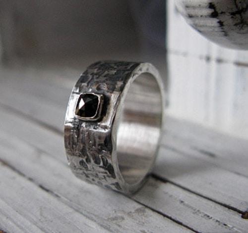 Black Diamond Ring Band