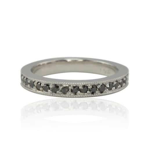 Black Diamond Ring For Sale