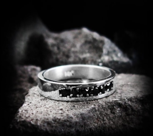 Black Diamond Ring Price